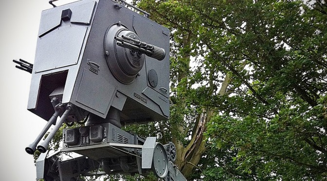 Life-size Star Wars AT-ST Walker Replica