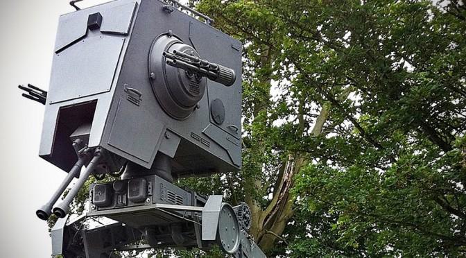 Life-size Star Wars AT-ST Walker Replica