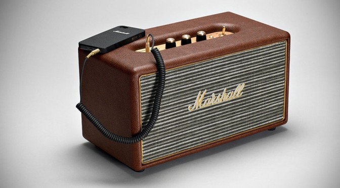 Marshall Stanmore Compact Active Loudspeaker - Brown