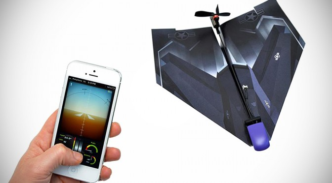 PowerUp 3.0 iPhone-controlled Paper Airplane