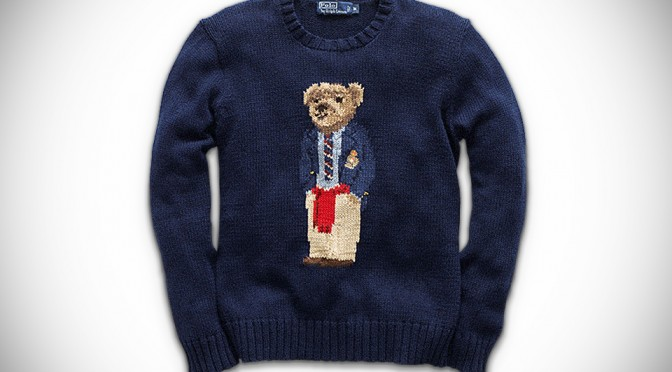 Ralph Lauren Polo Bear Sweater