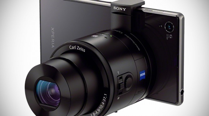 Sony Cyber-Shot QX-100 Lens Cameras