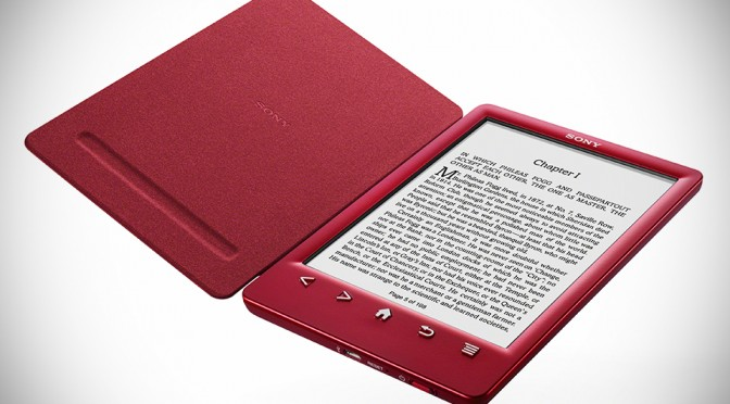 Sony Reader PRS-T3 eReader - Red