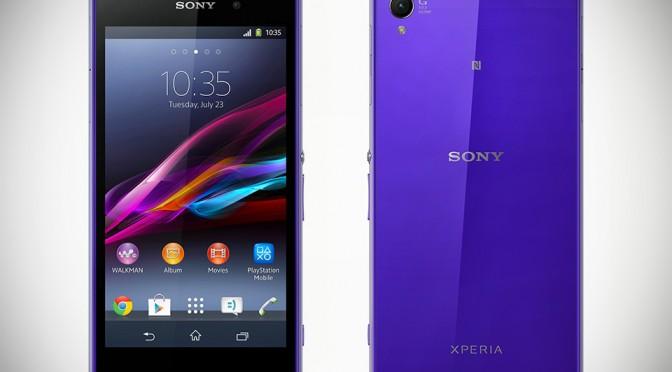 Sony Xperia Z1 Smartphone - Purple