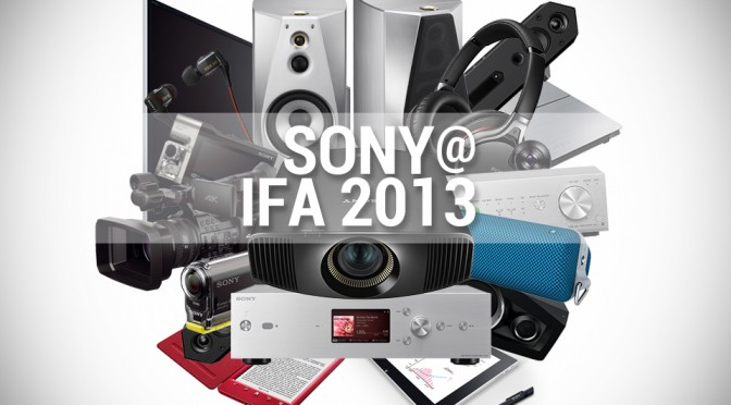 Sony at IFA 2013