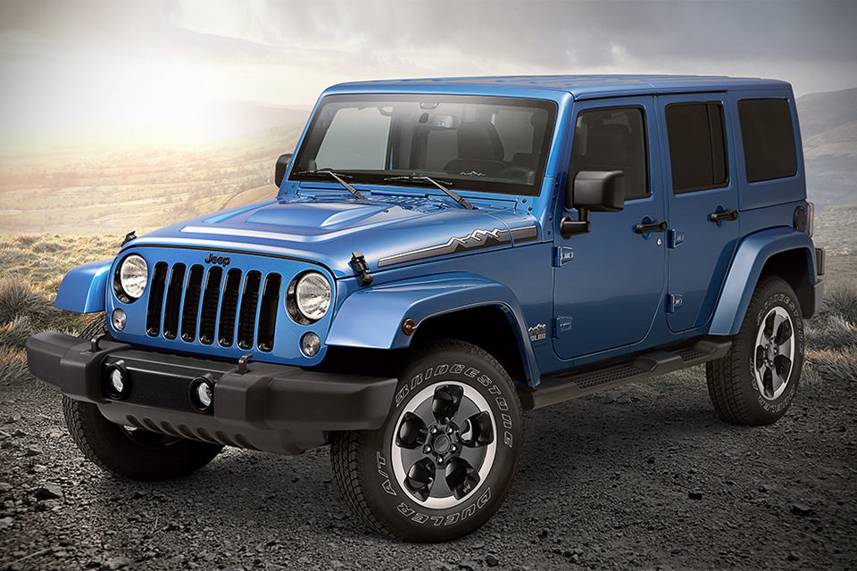 2014 Jeep Wrangler Polar Edition - MIKESHOUTS
