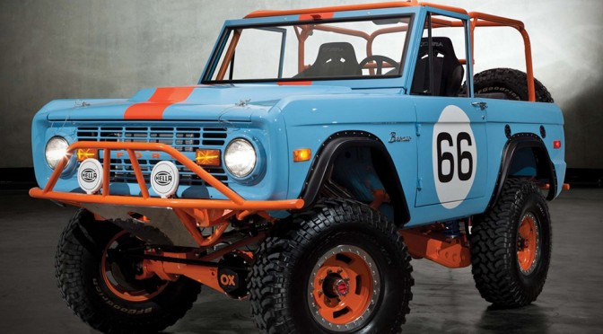 '66 Bronco Heritage by Galpin Auto Sports
