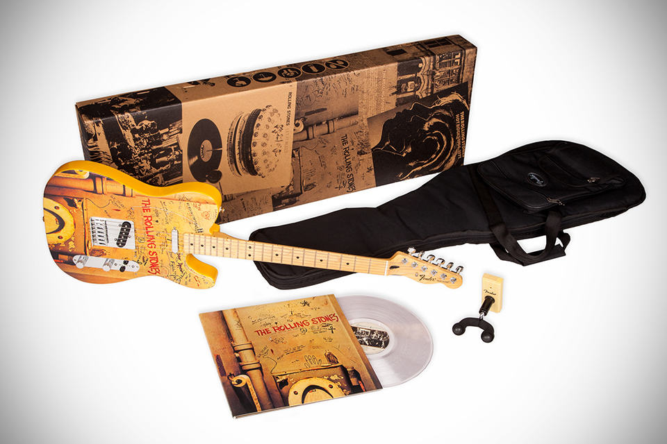 Abkco X Fender Beggars Banquet Guitar Mikeshouts