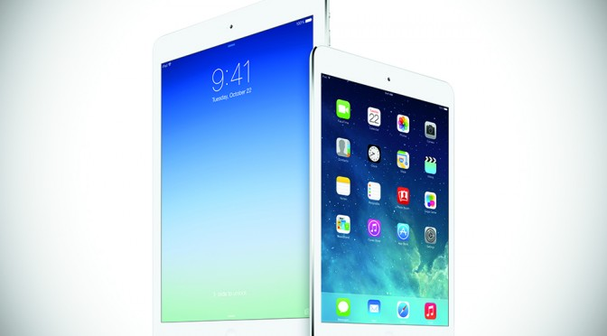 Apple iPad Air and iPad mini with Retina Display