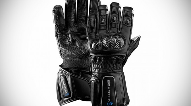 BearTek Bluetooth Gloves - Moto Gloves