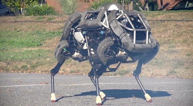 Boston Dynamics Wildcat Robot