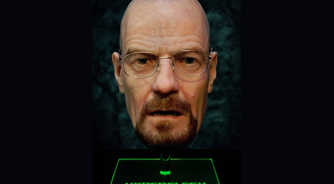 Breaking Bad Walter White Hyperflesh Mask