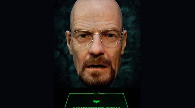 Breaking Bad Walter White Hyperflesh Mask