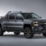 Chevrolet Silverado Black Ops Concept Survival Truck