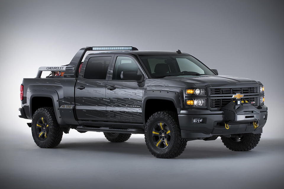2014 Chevy Silverado Black Ops Edition