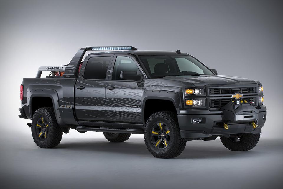 Silverado Black Ops >> Chevrolet Silverado Black Ops Concept Survival Truck | SHOUTS