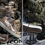 DEFCON x VANS Syndicate Camouflage Sneakers