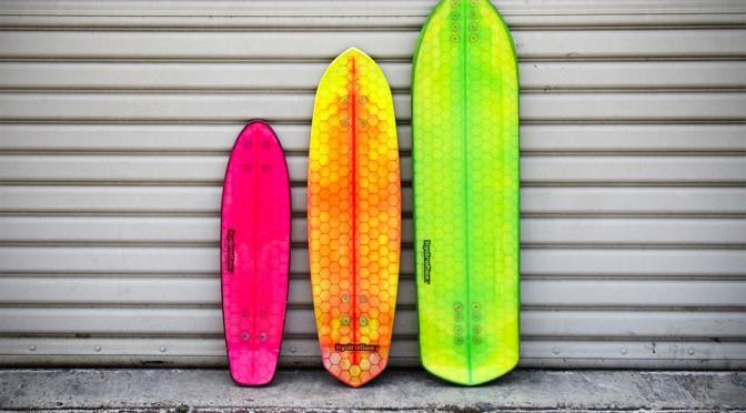 Hydroflex Hi-tech Composite Skateboards