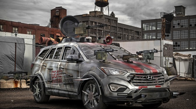Hyundai Walking Dead Santa Fe Sport Survival Machine