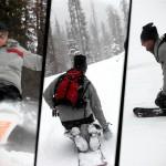 KneeFlyer Binding System for Kneeboarding