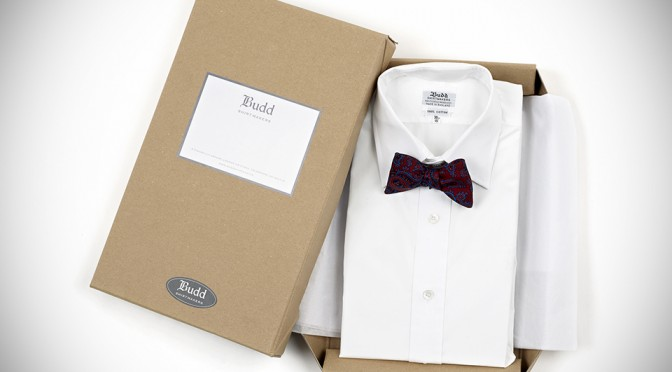 Men's Luxury Gifts from Budd Shirtmakers