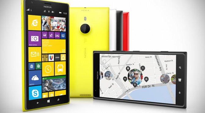 Nokia Lumia 1520 and Lumia 1320 Windows Phone