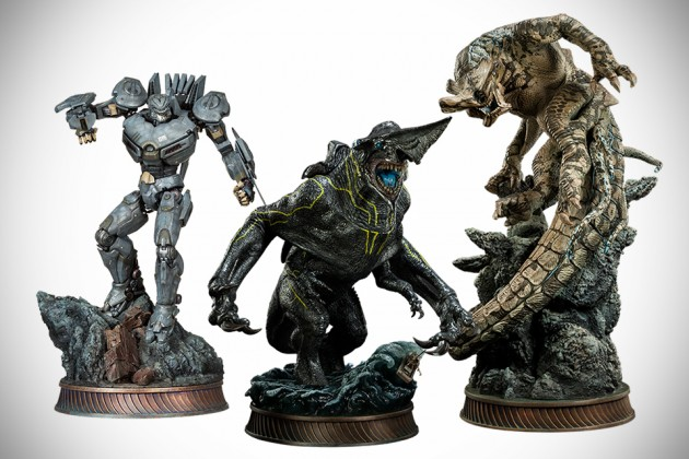 Sideside Collectibles Pacific Rim Statues