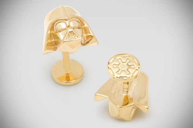 Star Wars Darth Vader 14k Gold Cufflinks