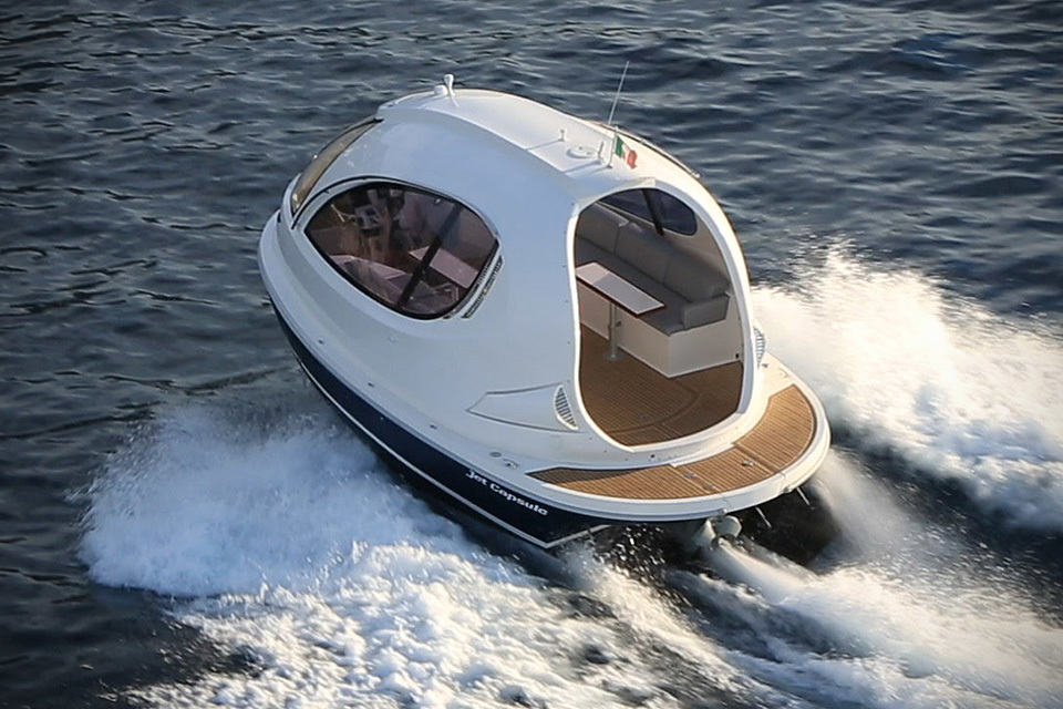 Water Jet Capsule By Pierpaolo Lazzarini Mikeshouts
