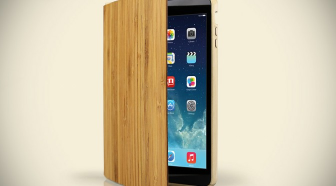 Wood Smart Case for iPad Air and iPad mini