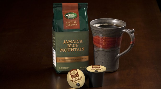 100% Kona and Jamaica Blue Mountain Special Reserve Coffees