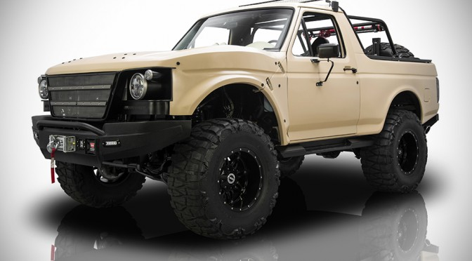 "1991 Ford Bronco ""Project Fearless"""
