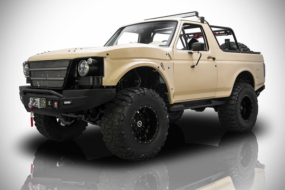 1991 ford bronco project fearless mikeshouts for Bronco motors used cars