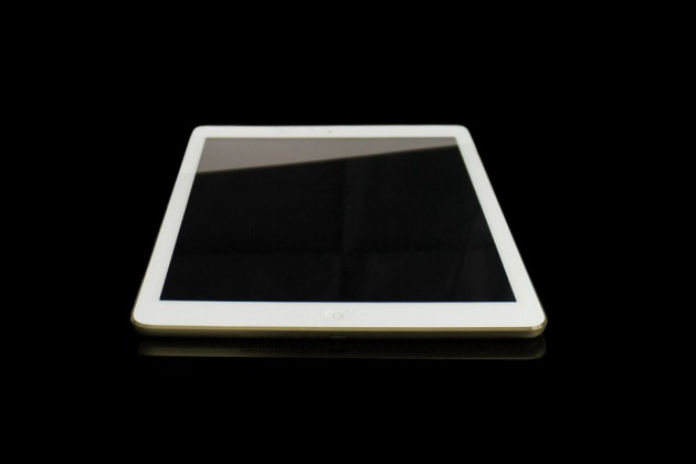 24 CT Gold iPad Air by Gold Genie - Front