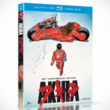Akira: 25th Anniversary Edition Blu-ray + DVD Combo