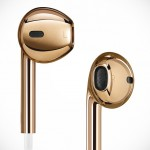 Apple Solid Rose Gold Earpods