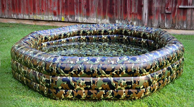 CAMOPOOL Camouflage Inflatable Pool