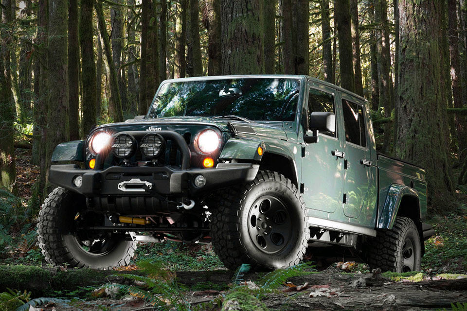 Filson Edition Aev Brute Double Cab Jeep Mikeshouts