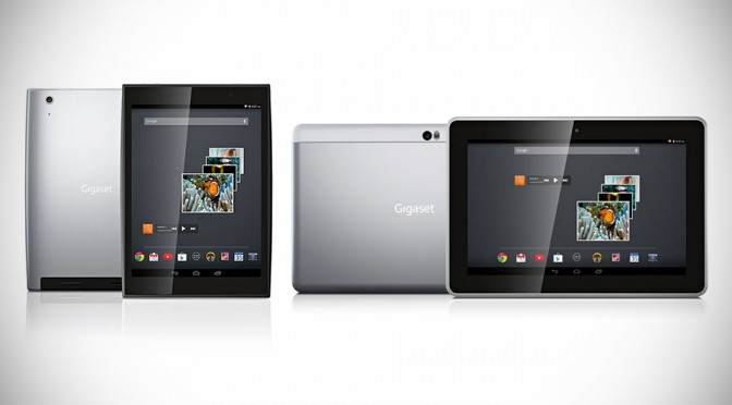 Gigaset QV830 and QV1030 Android Tablets