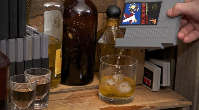 Ink Whiskey Concealable Entertainment Flask