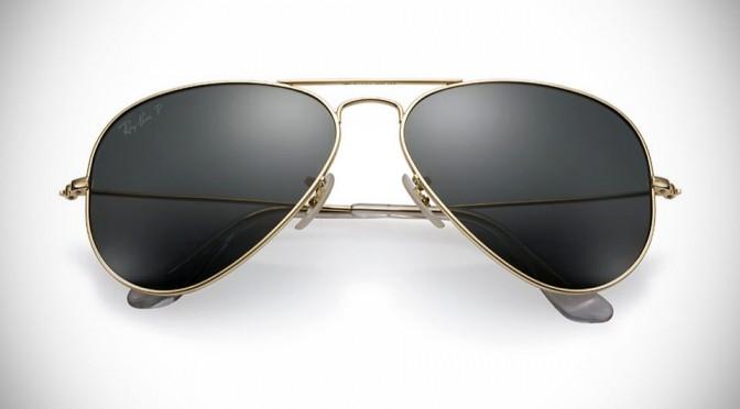 Ray-Ban Aviator Solid Gold Sunglasses