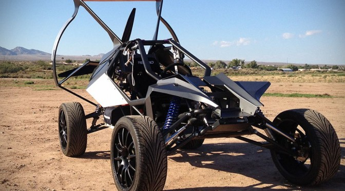 SkyRunner Flying Car