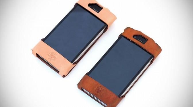 Teranishi Leather iPhone Case