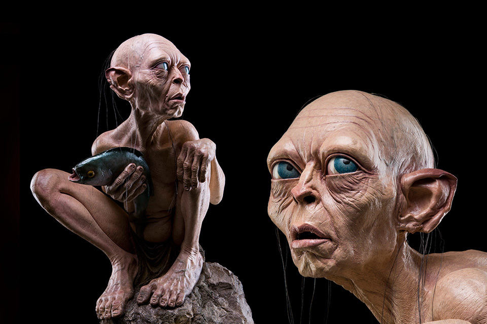 The Lord Of The Rings Life Size Gollum Statue Mikeshouts