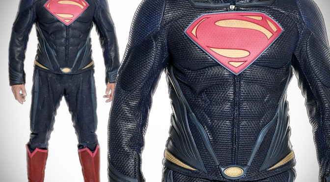 UD Replicas Man of Steel Leather Costume