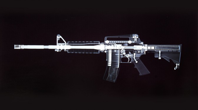 X Ray Guns - AR 15 Rifle