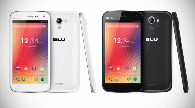 BLU Advance 4.0 and STUDIO 5.0 II Smartphone