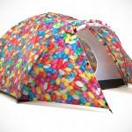 Bang Bang Colorful Solar-powered Tents