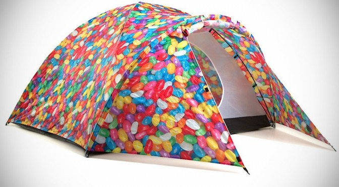 Bang Bang Colorful Solar-powered Tents - Hansel and Gretel