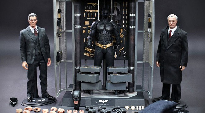 Batman Armory with Bruce Wayne and Alfred Pennyworth